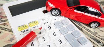 מחשבון ודגם של רכב