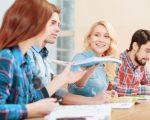 תלמידים מבוטחים בביטוח תאונות אישיות בכיתה