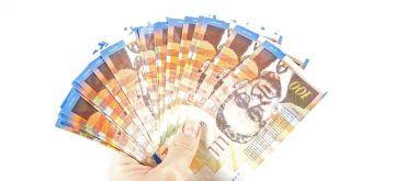 מניפת שטרות כסף