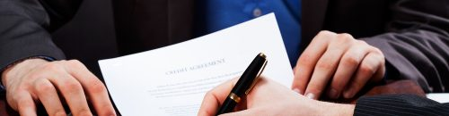 חתימה על משכנתא לנכס מסחרי
