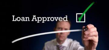 שלט של הלוואה מאושרת