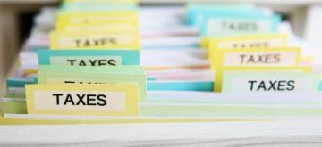 תיקיות של מס הכנסה