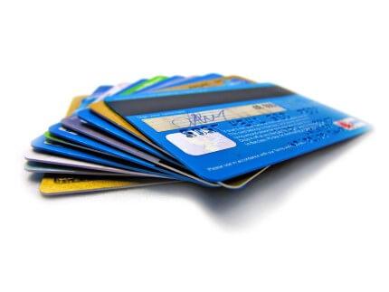 מבחר כרטיסי אשראי