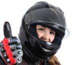 נהגת אופנוע שעשתה ביטוח באתר המרכז הישראלי לצרכנות פיננסית