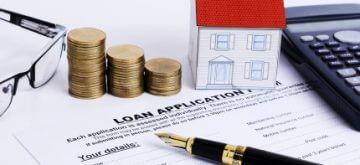 טופס של הלוואה למשכנתא