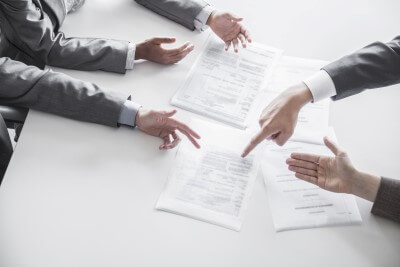 פגישת ייעוץ לאיש עסקים