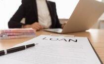 טופס הלוואה ללא צ'קים מוכן לחתימה