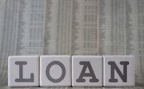המילה הלוואות על נתונים הלוואה