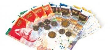 שטרות ומטבעות ישראליים להלוואה