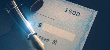 חתימה על צ'ק לצורך הלוואה מקרן השתלמות