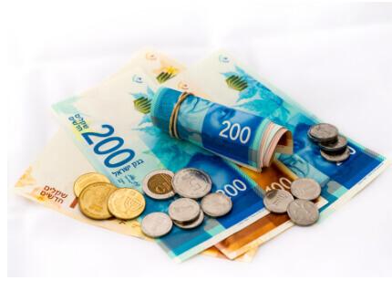 שטרות ומטבעות כסף ישראלי