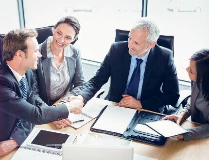 פגישה בקרן פיטסבורג לעסקים