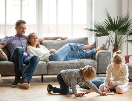 משפחה בדירה ממחיר למשתכן