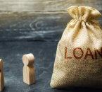 שק יוטה עם כתוביות הלוואה